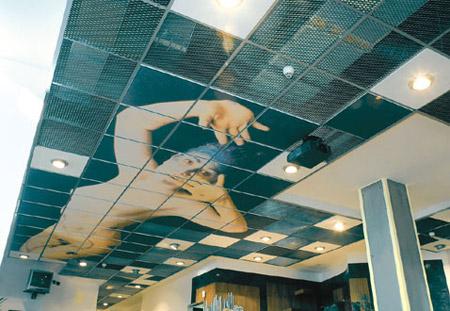 Podhledy na strop